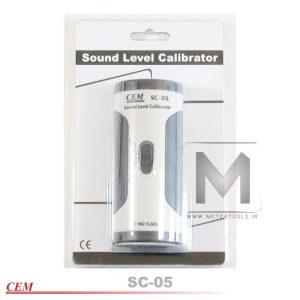کالیبراتور دستگاه سنجش صدا SC-05_3