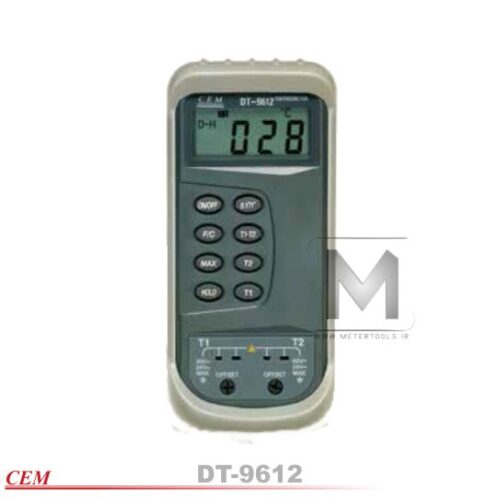 مدل DT-9612 ترمومتر ترموکوپل دار